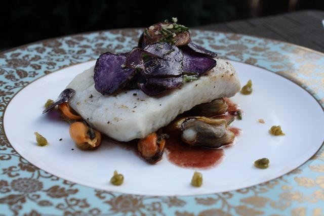 Filet de turbot poch sauce bordelaise aux agrumes et for Art et magie de la cuisine raymond oliver