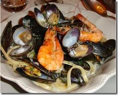 Spaghetti et coquillages saut s la sicilienne - Blog cuisine sicilienne ...
