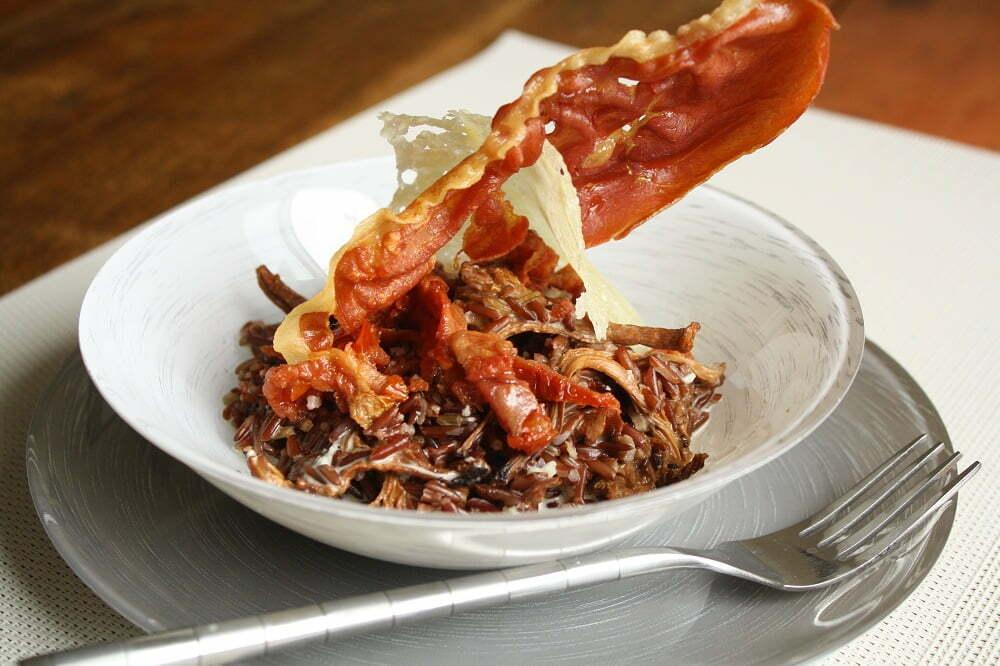 Deco Chambre Union Jack : Riz Rouge Sauvage aux Chanterelles, Gorgonzola et Tomates Séchées